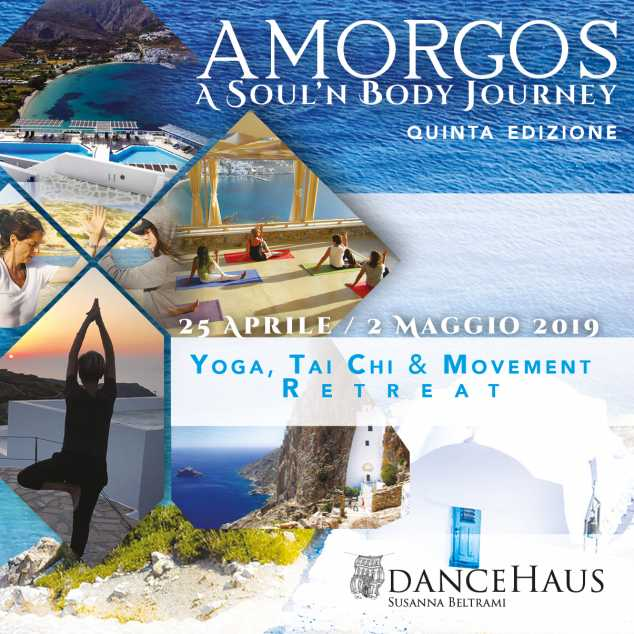 "AMORGOS 2019: YOGA_TAI CHI & MOVEMENT RETREAT ""Soul'n Body Journey"""