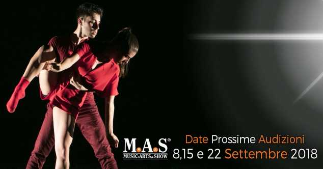 Audizioni MAS Musical & Performing Academy