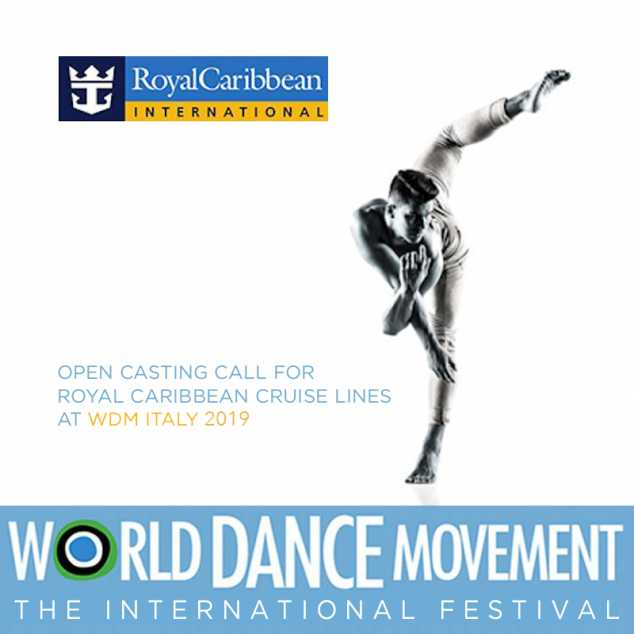 Audizioni per Danzatori e Cantanti di Royal Caribbean durante il World Dance Movement ITALI - The In