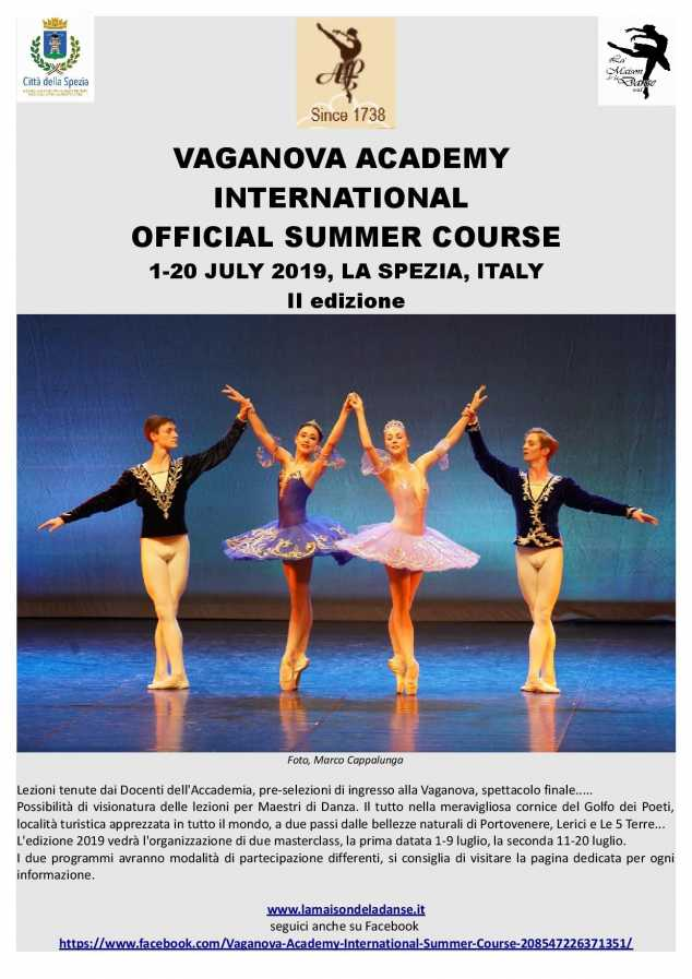 Vaganova Academy - official summer school e audizione