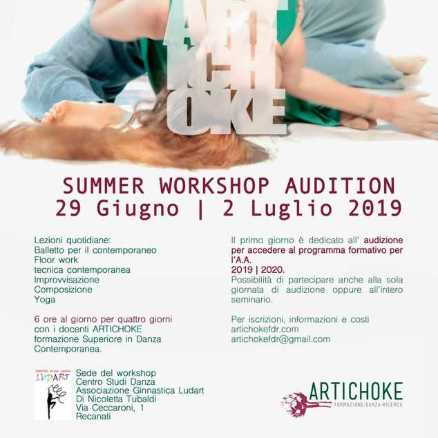 Summer Workshop/Audition Artichoke