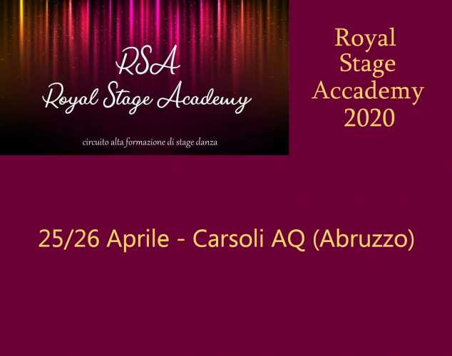ROYAL STAGE ACADEMY 2020