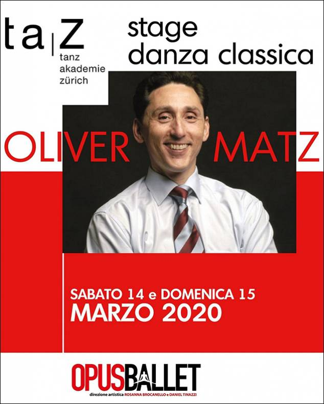 Workshop con il Maestro Oliver Matz