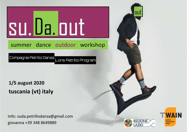 su.Da.out summer dance outdoor workshop