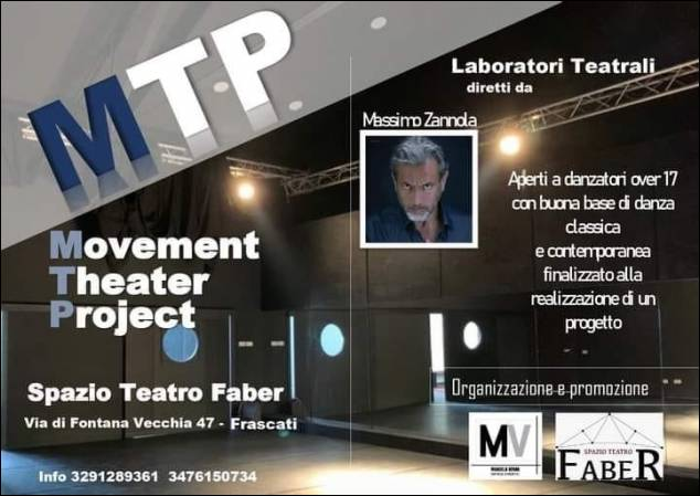 Movement Theater Project - Laboratorio Teatrale per Danzatori a cura di Massimo Zannola